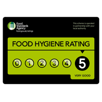 5 star food hygeine rating