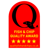 5 star Fish and Chip Quality Award