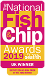National Fish and Chip Awards Winner 2019